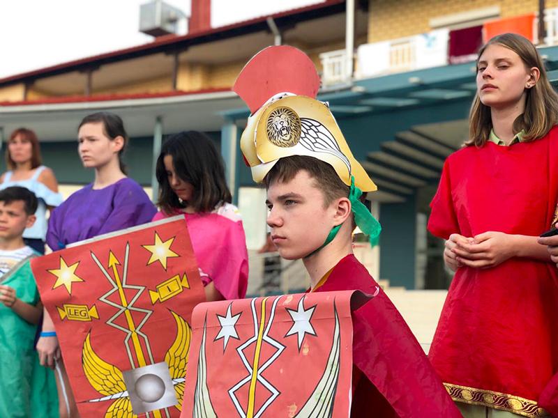 И пришел тот великий день! День, когда начался легендарный Римский поход! Наши мужественные легионеры всех провинций направились  осваивать новые земли.
