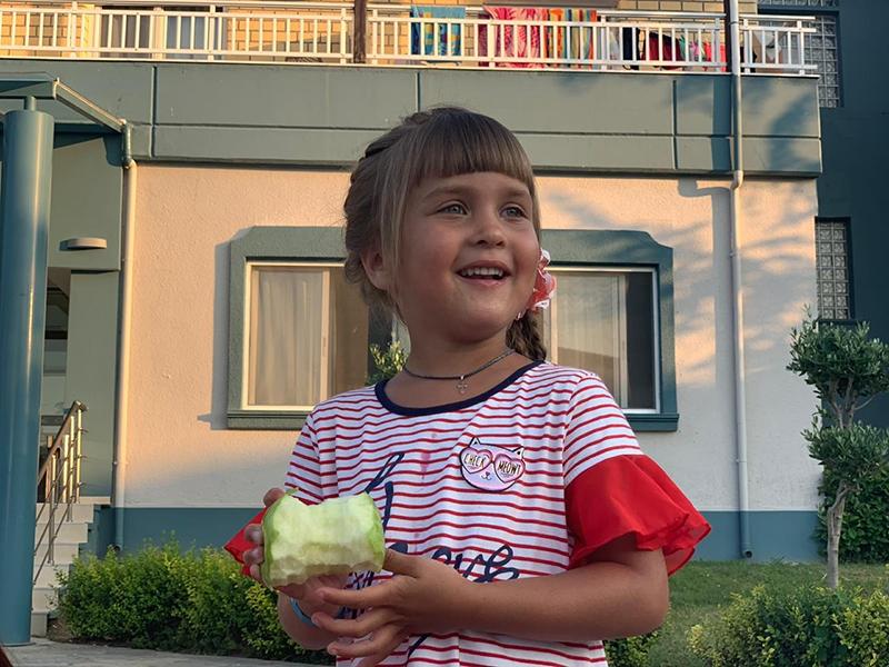 Этот день мы начали очень позитивно, а помогла нам в этом Антонина и ее прекрасная улыбка!