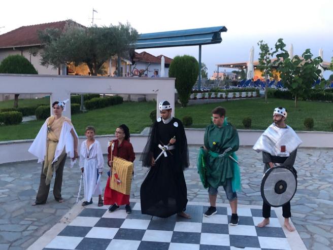 Вечером перед судом общественности предстали лучшие из лучших воинов Асгарда. Каждый был достоин стать победителем!