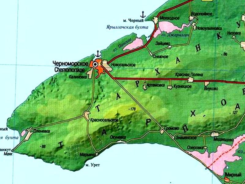Участки под строительство в Черноморском районе: купить недо.