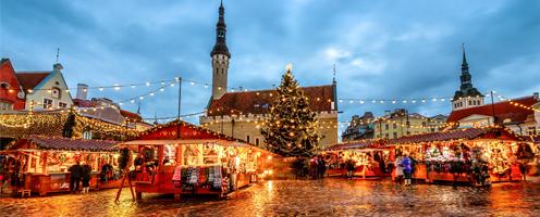 Новогодние каникулы в Эстонии
