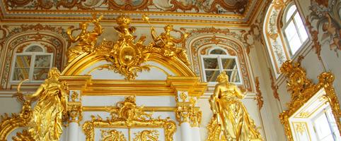 Новогодний праздник в Петергофе в стиле XIX века