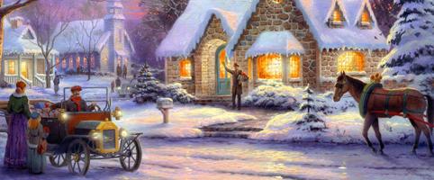 Новый Год и Рождество с детьми в музее-усадьбе «Приютино»