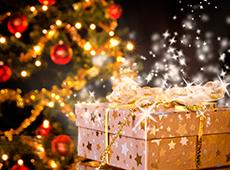 Новогодние подарки от Дедушки Мороза