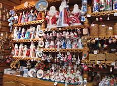 Сувенирная лавка Деда Мороза