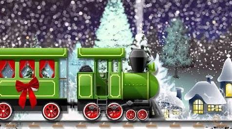 Детский поезд «Зимняя сказка - основной состав!»