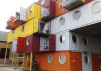 В Грузии открылся бутик-отель из морских контейнеров