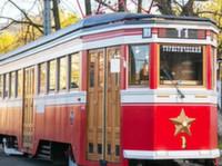 Первый туристический ретро-трамвай запущен в Петербурге