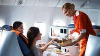 Пассажиры назвали лучшую авиакомпанию России по качеству питания