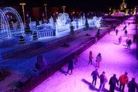 Каток на ВДНХ откроется масштабным световым шоу