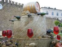 Первый винный фонтан открылся в Италии