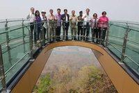 Прозрачная смотровая площадка открылась в Таиланде