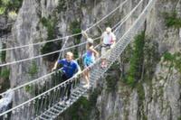 """В Италии открыт для посещения длиннейший в мире """"тибетский"""" мост"""