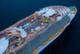 Крупнейший в мире круизный лайнер отправляется в первый рейс